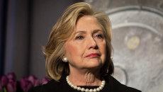 Кандидат в президенты от Демократической партии США Хиллари Клинтон. Архивное фото