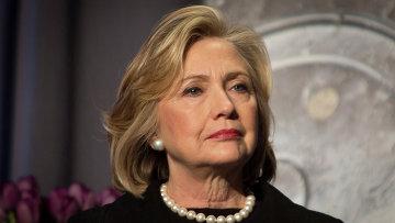 Кандидат в президенты от Демократической партии США Хилари Клинтон. Архивное фото