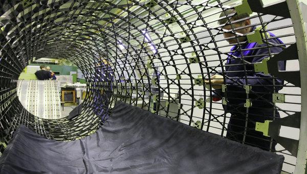 Изготовление центральной изогрибной конструкции космического аппарата