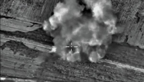 Удары ВКС России по боевикам ИГ
