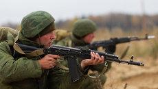 Летно-тактические учения ВДВ в Псковской области. Архивное фото