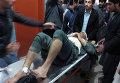 Пострадавший во время землетрясения в Пакистане