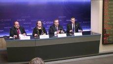 Пресс-брифинг участников IV Международного конгресса Глобалистика