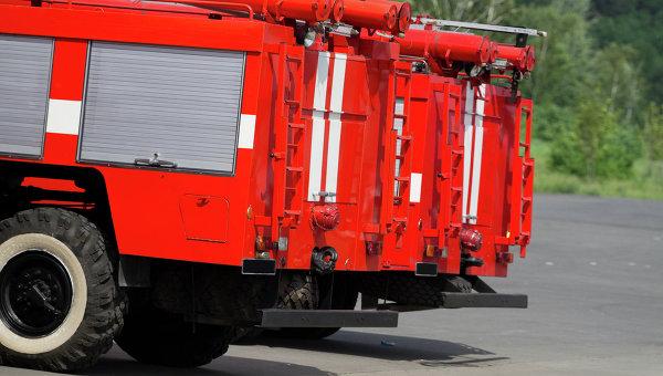 Пожарные машины, архивное фото