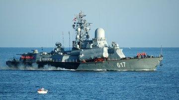 Корабль Черноморского флота России. Архивное фото