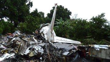 Крушение самолета Ан-12 в городе Джуба в Южном Судане, 4 ноября 2015