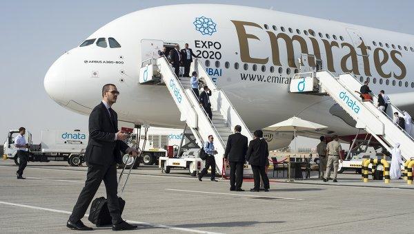 Пассажирский самолет Airbus A380-800. Архивное фото