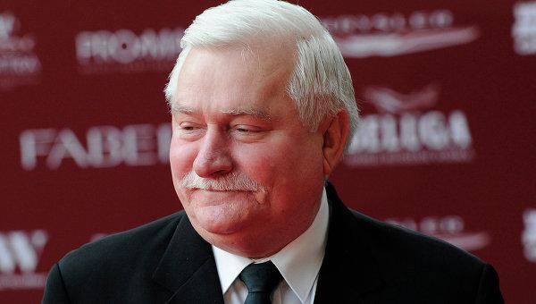 Бывший президент Польши, первый руководитель профсоюза Солидарность Лех Валенса. Архивнео фото