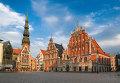 Вид на исторический центр Риги