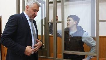 Заседание суда по делу Надежды Савченко. Архивное фото