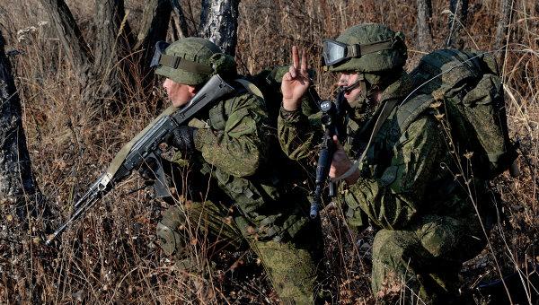 Комплексные тактические учения артиллерийских и разведывательных подразделений 83-й бригады ВДВ в Приморском крае. Архивное фото