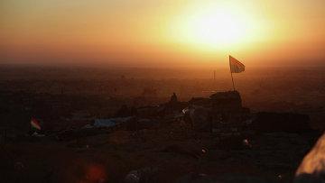 Курдские вооруженные силы возле города Синджар. 13 ноября 2015