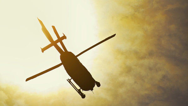 Вертолет, архивное фото