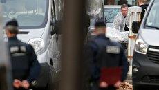 На месте теракта в Париже, 14 ноября 2015