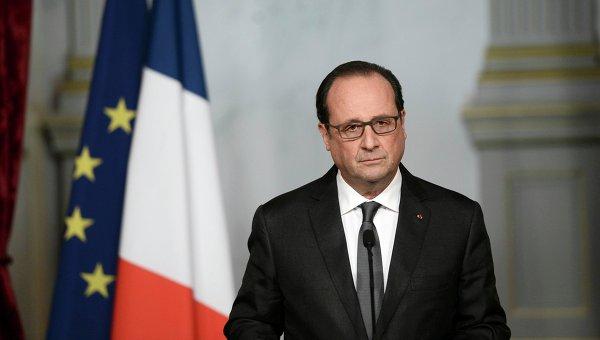 """Олланд: враг Франции - """"Исламское государство"""", а не Асад - РИА Новости, 16.11.2015"""