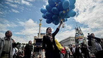 Акции на Площади Независимости в Киеве