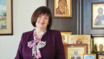 Председатель попечительского совета всероссийской программы Святость материнства Наталья Якунина