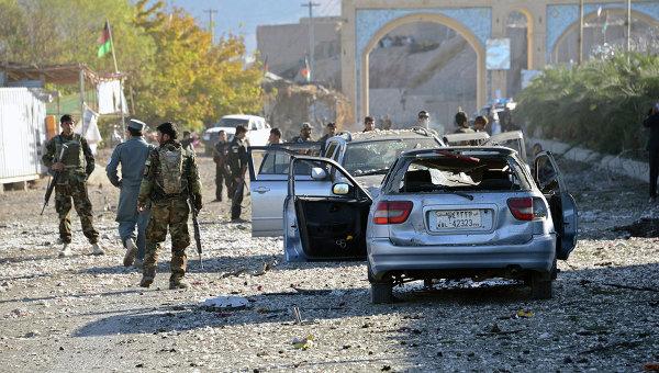 Сострудники служб безопасности Афганистана. Архивное фото