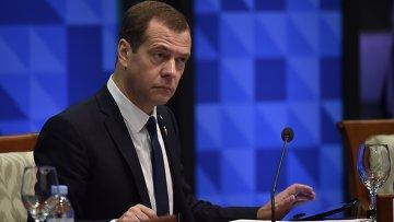 Председатель правительства РФ Дмитрий Медведев на форуме АТЭС. Архивное фото