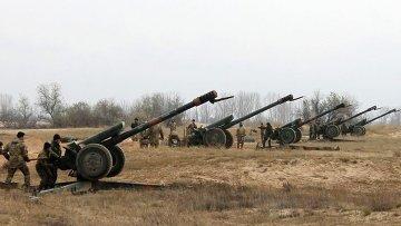 Артиллерия ВСУ. Архивное фото