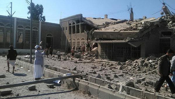 Ситуация в столице Йемена Сане