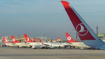 Самолеты авиакомпании Turkish Airlines