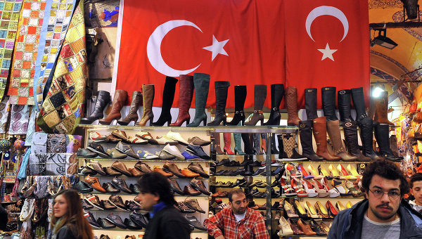 Стамбульский базар. Архивное фото