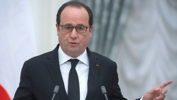 Президент Франции Франсуа Олланд. Архивное фото