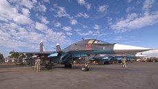 Авиатехники проверили ракеты воздух-воздух на Су-34 перед вылетом в Сирии