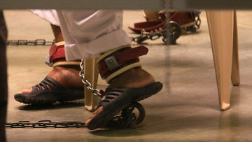 Гуантанамо: тюрьма на Острове Свободы, ожидающая закрытия. Архивное фото