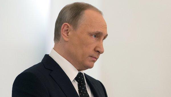 Президент России Владимир Путин . Архивное фото.