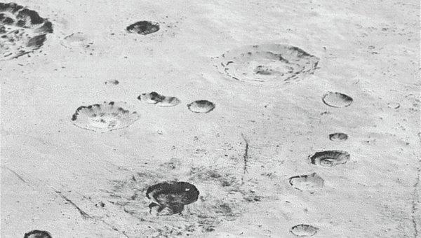 Снимки Плутона с аппарата New Horizons