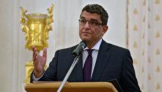 Чрезвычайный и полномочный посол Египта Мохаммед Абдельсаттар Эль-Бадри. Архивное фото
