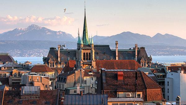 Лозанна, Швейцария. Архивное фото