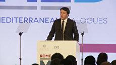 Премьер Италии о спасении беженцев и сотрудничестве стран в борьбе с ИГ