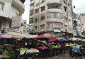 Улицы города Латакия в Сирии