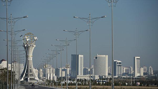 Города мира. Ашхабад. Архивное фото