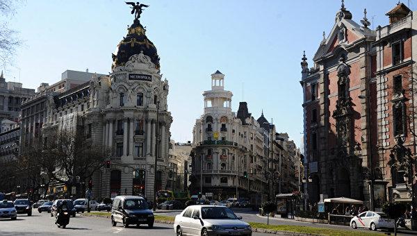 Страны мира. Испания. Мадрид. Архивное фото.