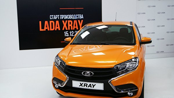Рекомендованная цена Lada Xray начинается от 589 тысяч рублей