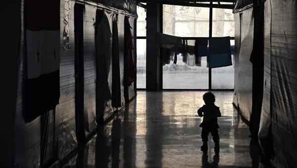 Лагерь беженцев в Латакии