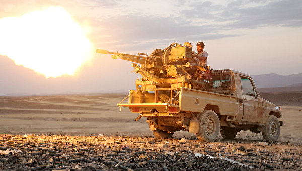 Народного сопротивление в Йемене. Архивное фото