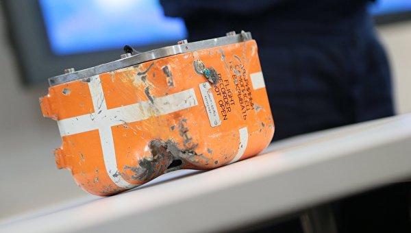 Черный ящик самолета Су-24М, сбитого 24 ноября 2015 года в небе Сирии истребителем ВВС Турции