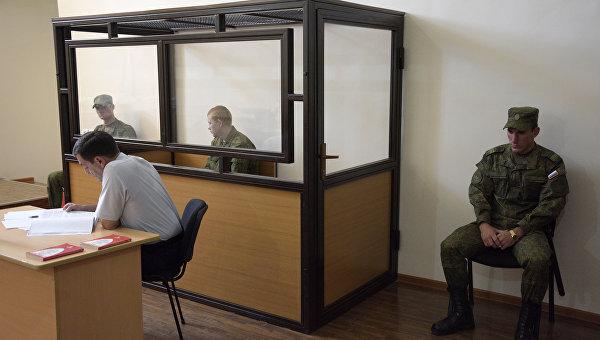 Судебное заседание по делу российского военнослужащего Валерия Пермякова, обвиняемого в убийстве семьи из семи человек в городе Гюмри. Архивное фото