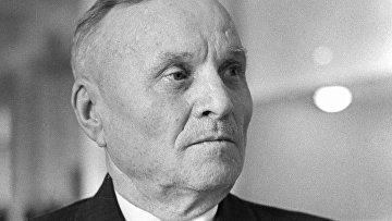 Председатель колхоза Рассвет Могилёвской области Кирилл Орловский. Архивное фото