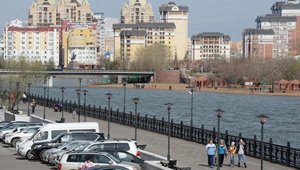 Астана. Казахстан. Архивное фото