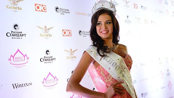 Финалистка конкурса Мисс Мира - 2015 София Никитчук. Архивное фото