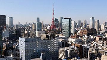 Вид на Токио, Япония. 2015 год. Архивное фото
