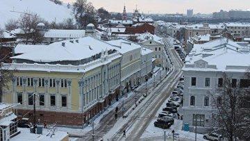 Нижний Новгород зимой. Архивное фото