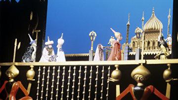 Сцена из спектакля Волшебная лампа Алладина