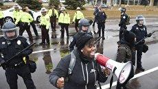 Акция протеста Жизнь чернокожего имеет значение  в Миннеаполисе, Миннесота